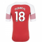 2018-2019 Arsenal Puma Home Football Shirt (Monreal 18) - Kids