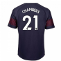 2018-2019 Arsenal Puma Away Football Shirt (Chambers 21) - Kids