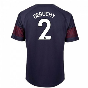 2018-2019 Arsenal Puma Away Football Shirt (Debuchy 2) - Kids