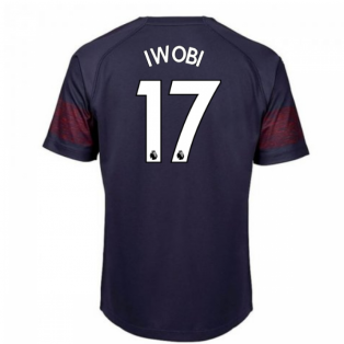 2018-2019 Arsenal Puma Away Football Shirt (Iwobi 17) - Kids