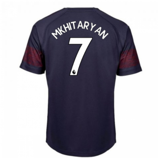 2018-2019 Arsenal Puma Away Football Shirt (Mkhitaryan 7) - Kids