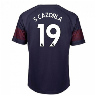 2018-2019 Arsenal Puma Away Football Shirt (S Cazorla 19) - Kids