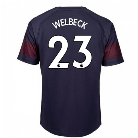 2018-2019 Arsenal Puma Away Football Shirt (Welbeck 23) - Kids