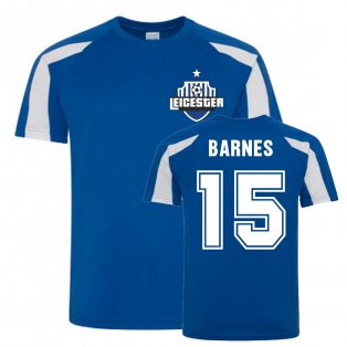 Harvey Barnes Leicester City Sports Training Jersey (Blue)