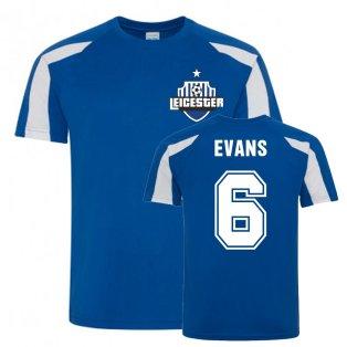 Jonny Evans Leicester City Sports Training Jersey (Blue)