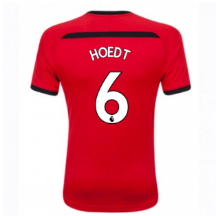 2018-2019 Southampton Home Football Shirt (Hoedt 6) - Kids