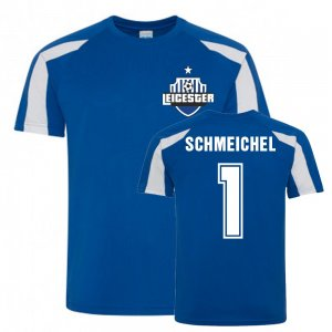 Kasper Schmeichel Leicester City Sports Training Jersey (Blue)
