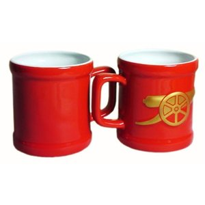 Arsenal FC Crest Sculptured Mug