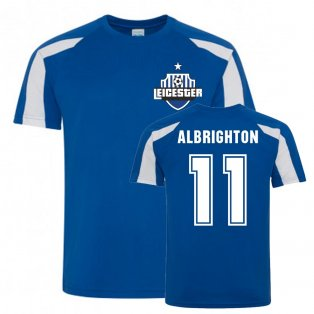 Marc Albrighton Leicester City Sports Training Jersey (Blue)