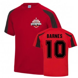 John Barnes Liverpool Sports Training Jersey (Red)