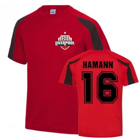Dietmar Hamann Liverpool Sports Training Jersey (Red)
