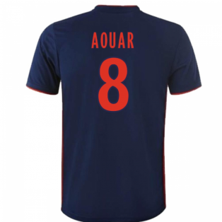 2018-19 Olympique Lyon Away Shirt (Aouar 8) - Kids