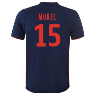 2018-19 Olympique Lyon Away Shirt (Morel 15) - Kids
