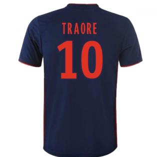 2018-19 Olympique Lyon Away Shirt (Traore 10) - Kids