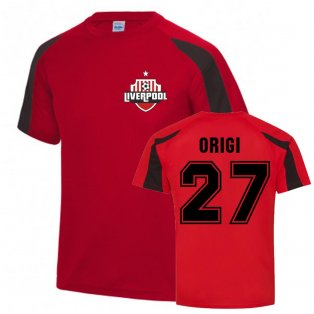 Divock Origi Liverpool Sports Training Jersey (Red)