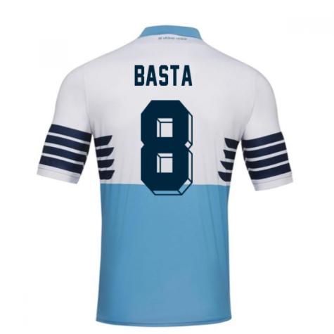 2018-19 Lazio Home Football Shirt (Basta 8) - Kids