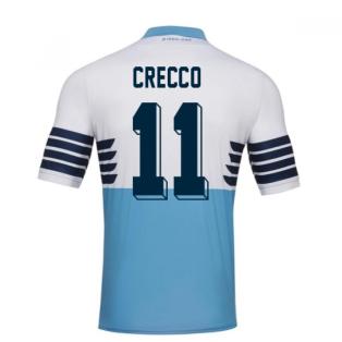 2018-19 Lazio Home Football Shirt (Crecco 11) - Kids