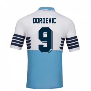 2018-19 Lazio Home Football Shirt (Dordevic 9) - Kids