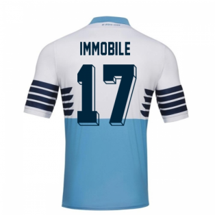 2018-19 Lazio Home Football Shirt (Immobile 17) - Kids