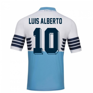2018-19 Lazio Home Football Shirt (Luis Alberto 10) - Kids
