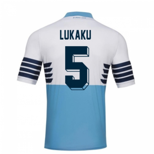 2018-19 Lazio Home Football Shirt (Lukaku 5) - Kids
