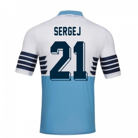 2018-19 Lazio Home Football Shirt (Sergej 21) - Kids