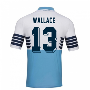 2018-19 Lazio Home Football Shirt (Wallace 13) - Kids