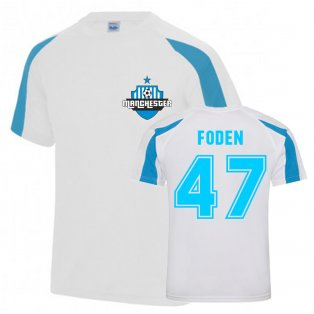 Phil Foden Man City Sports Training Jersey (White)