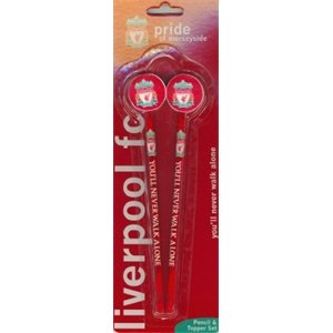Liverpool FC Pencil 2 PK Toppers