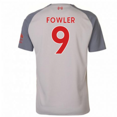 2018-2019 Liverpool Third Football Shirt (Fowler 9) - Kids
