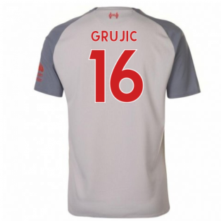 2018-2019 Liverpool Third Football Shirt (Grujic 16) - Kids