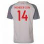 2018-2019 Liverpool Third Football Shirt (Henderson 14) - Kids