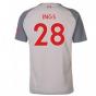 2018-2019 Liverpool Third Football Shirt (Ings 28) - Kids