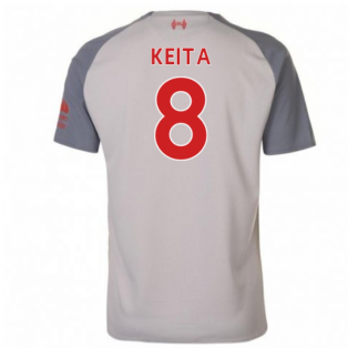 2018-2019 Liverpool Third Football Shirt (Keita 8) - Kids