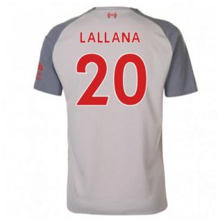 2018-2019 Liverpool Third Football Shirt (Lallana 20) - Kids