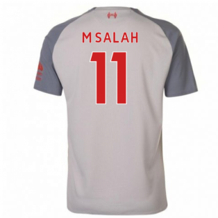 2018-2019 Liverpool Third Football Shirt (M Salah 11) - Kids