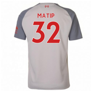 2018-2019 Liverpool Third Football Shirt (Matip 32) - Kids