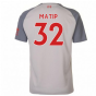 2018-2019 Liverpool Third Football Shirt (Matip 32) - Kids