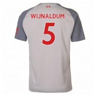 2018-2019 Liverpool Third Football Shirt (Wijnaldum 5) - Kids