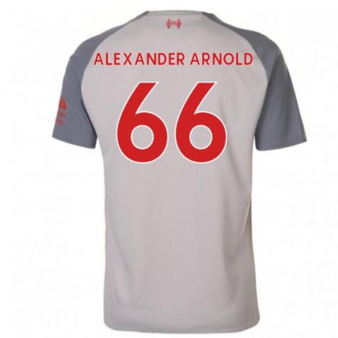 2018-2019 Liverpool Third Football Shirt (Alexander Arnold 66) - Kids