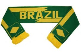 2010-11 Brazil Nike World Cup Scarf