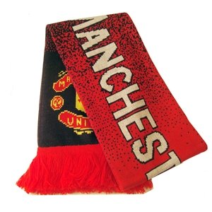 Manchester United FC Speckled Scarf
