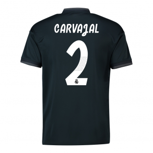 2018-19 Real Madrid Away Shirt (Carvajal 2) - Kids