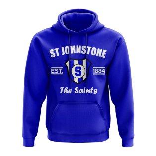 St Johnstone Established Hoody (Royal)