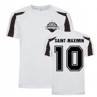 Allan Saint-Maximin Newcastle Sports Training Jersey (White)