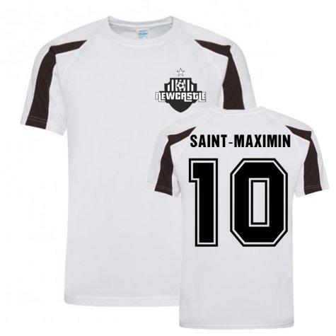 Allan Saint-Maximin Newcastle Sports Training Jersey (White)