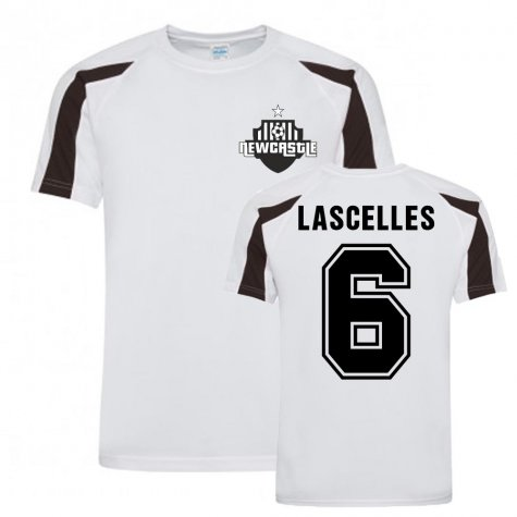 Jamaal Lascelles Newcastle Sports Training Jersey (White)
