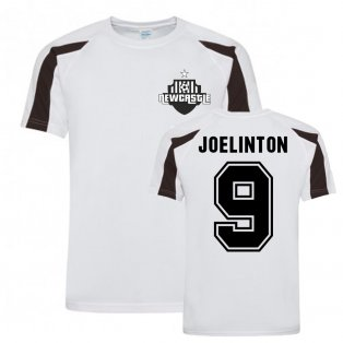 Joelinton Newcastle Sports Training Jersey (White)
