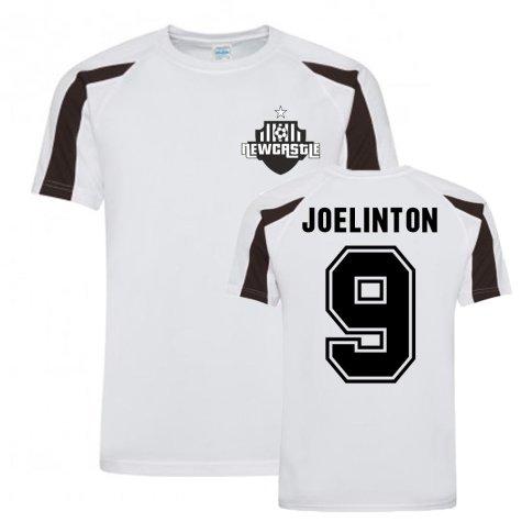 Joelinton Newcastle Sports Training Jersey (White)