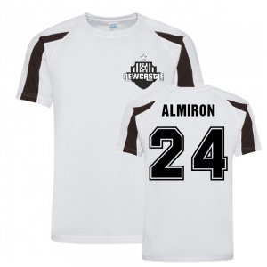 Miguel Almiron Newcastle Sports Training Jersey (White)